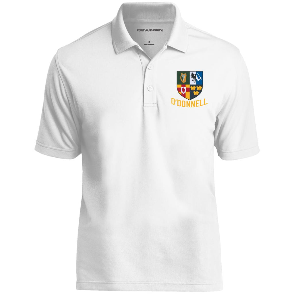Irish Provinces Personalized Name Embroidery K110 Dry Zone UV Micro-Mesh Polo