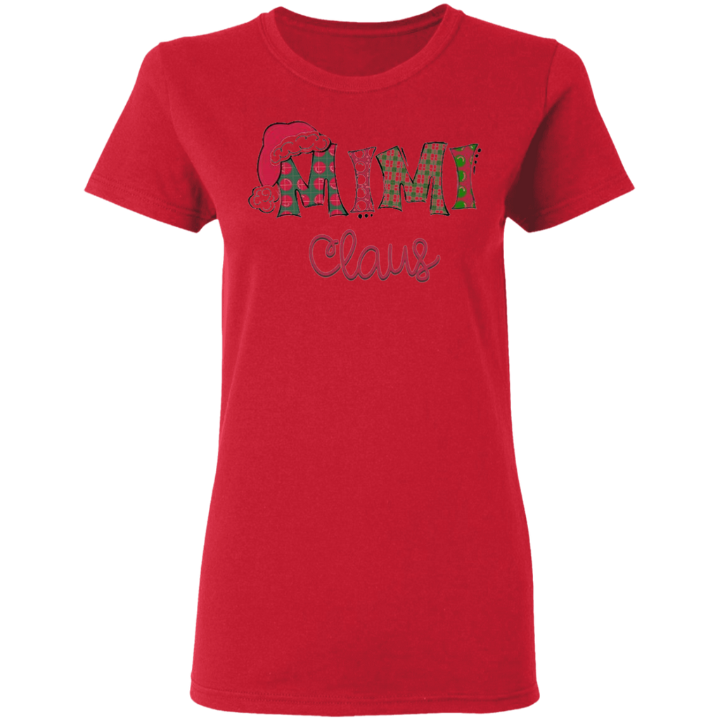 MIMI CLAUS G500L Gildan Ladies' 5.3 oz. T-Shirt