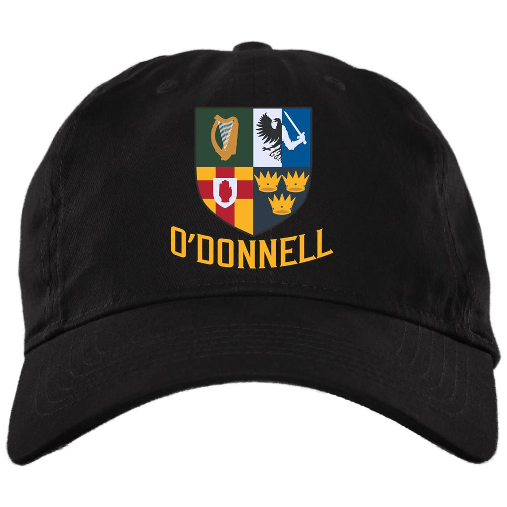 Irish Provinces Personalized Name Embroidery BX001 Brushed Twill Unstructured Dad Cap