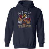One Thankful Teacher G185 Gildan Pullover Hoodie 8 oz.