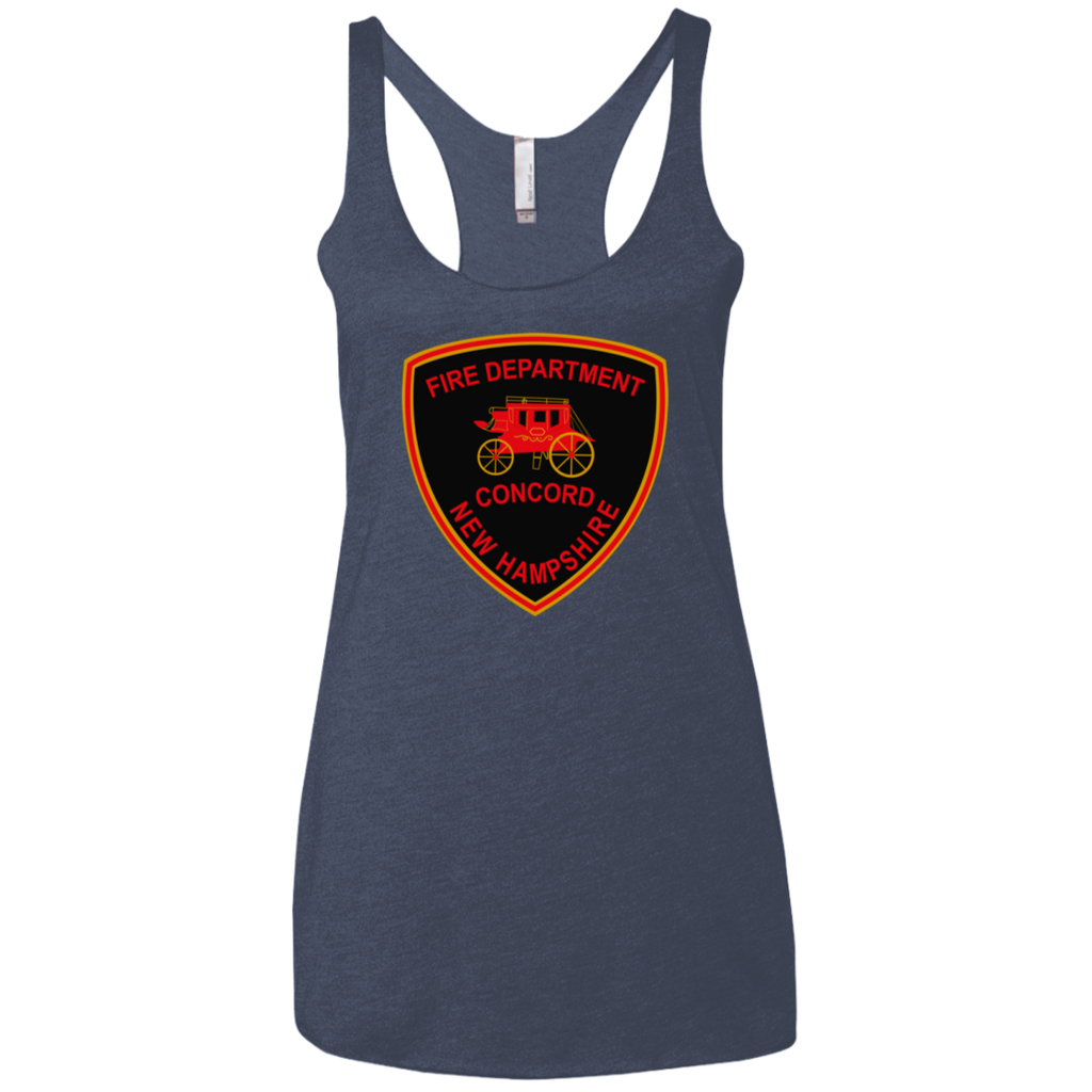 Concord, NH Fire Department NL6733 Next Level Ladies' Triblend Racerback Tank