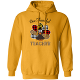 one thankful 2 G185 Gildan Pullover Hoodie 8 oz.