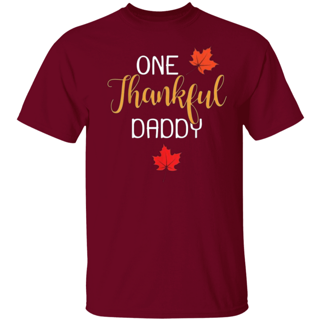 One Thankful DADDY G500 Gildan 5.3 oz. T-Shirt