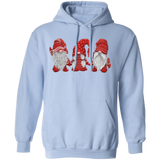 Hanging With Red Gnomies G185 Gildan Pullover Hoodie 8 oz.