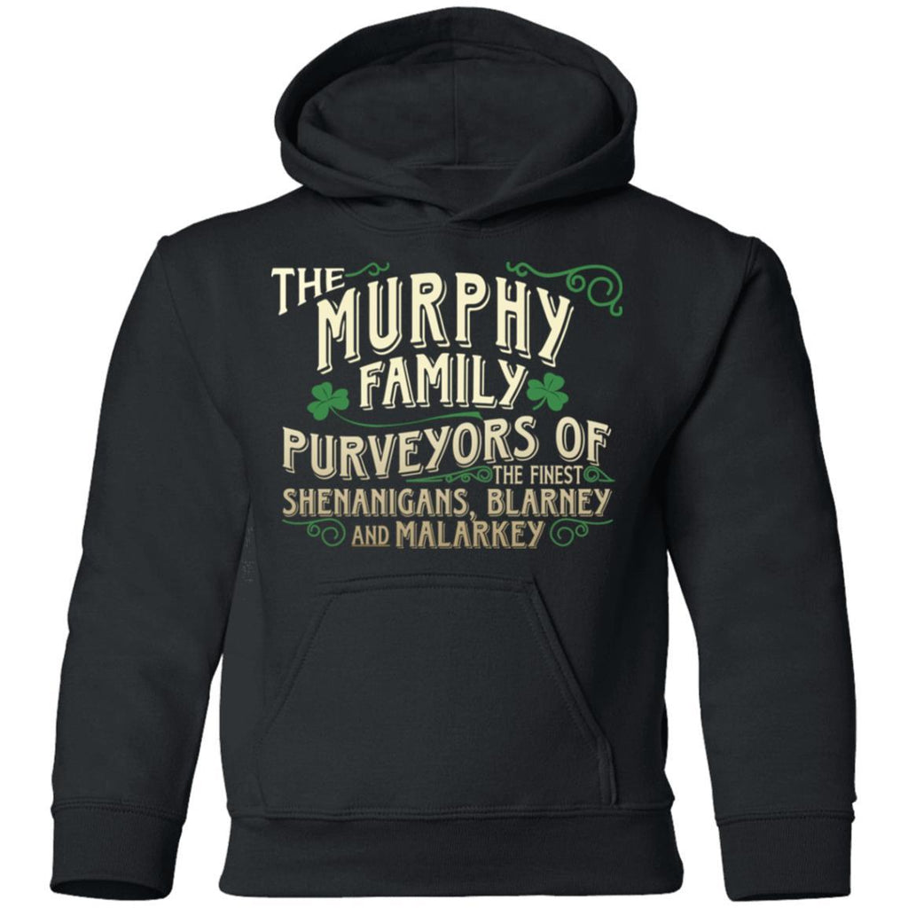 Irish Family Shenanigans Blarney And Malarkey Personalized Name Tees Hoodies