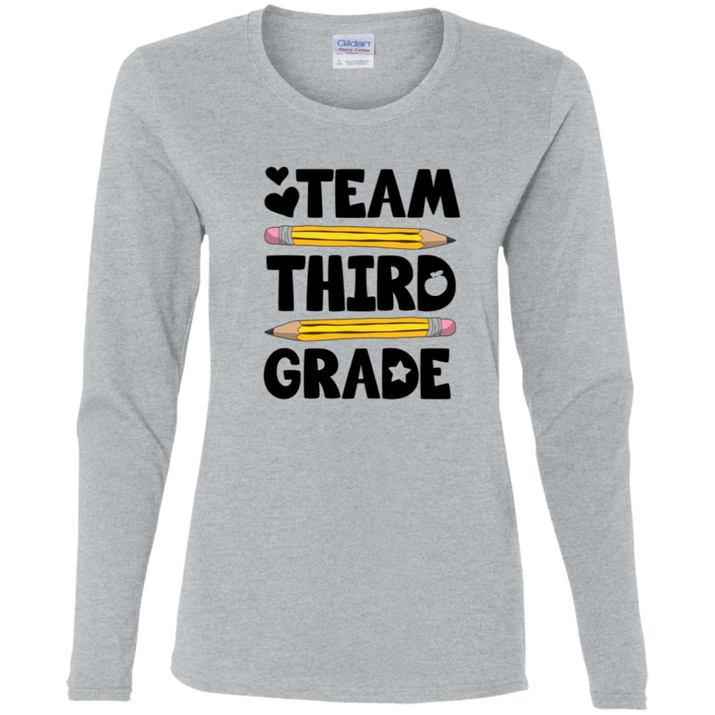 TEAM THIRD GRADE Personalized Teacher Shirts - Custom Teacher Shirt - Gift For Teacher