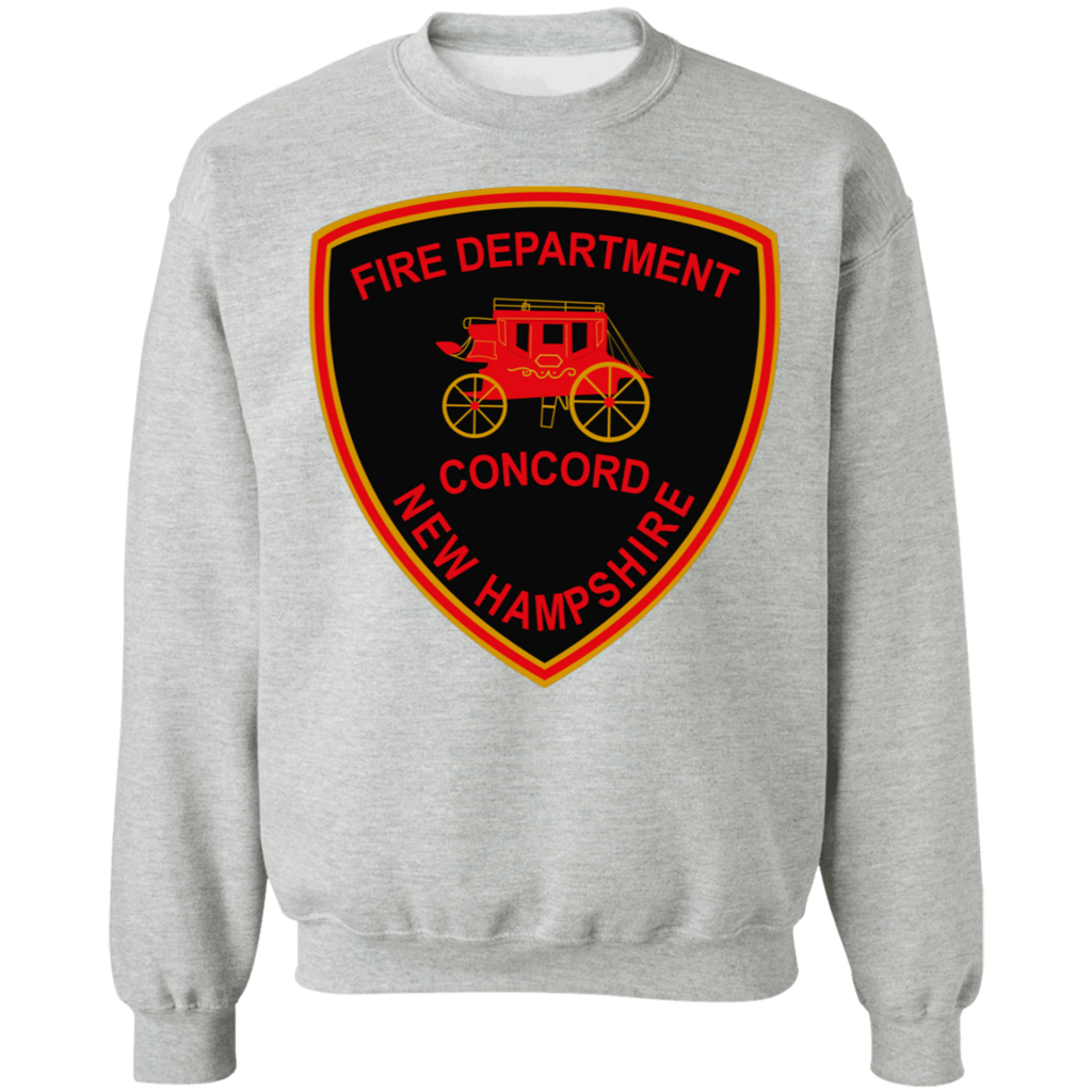 Concord, NH Fire Department G180 Gildan Crewneck Pullover Sweatshirt  8 oz.