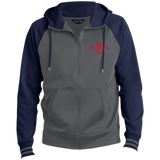 FIREFIGHTER ST236 Sport-Tek Men's Sport-Wick® Full-Zip Hooded Jacket