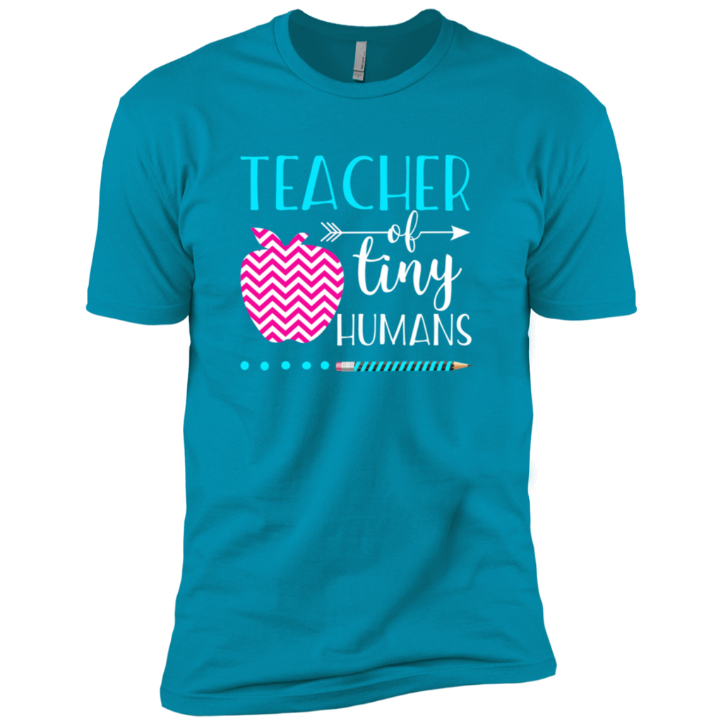 TEACHER OF TINY HUMANS 1 NL3600 Next Level Premium Short Sleeve T-Shirt