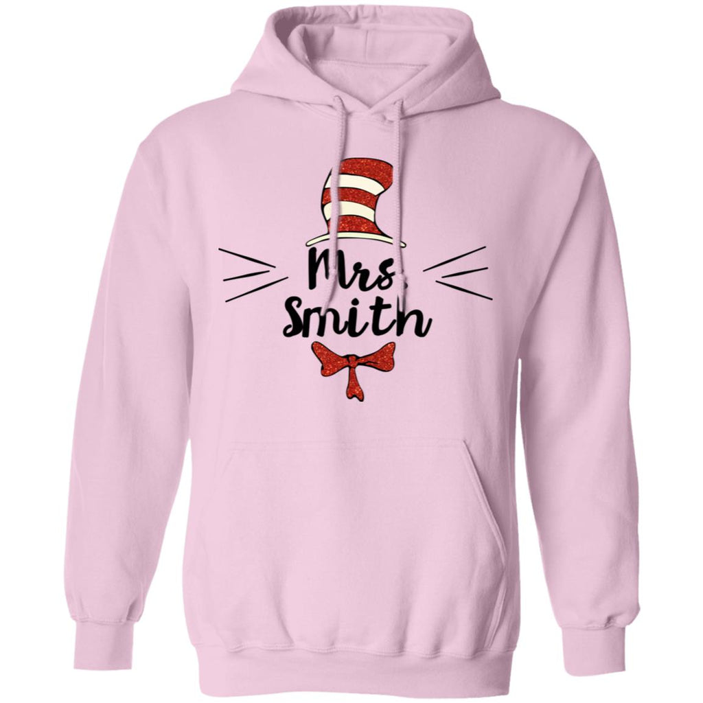 The Cat in the Hat Teacher Personalized Name Tees Hoodies