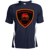 Concord, NH Fire Department ST351 Sport-Tek Colorblock Dry Zone Crew