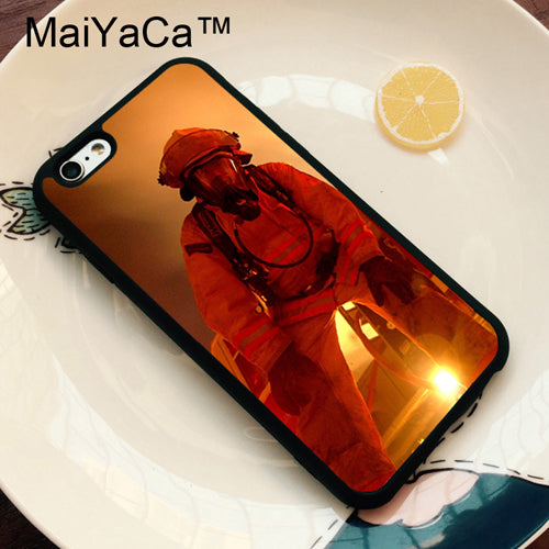 Firefighter Fire Fireman Soft TPU Skin Phone Case For iPhone X XR XS MAX 6 6S 7 8 Plus 5 5S SE Fundas Coque Cover