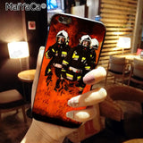 Firefighter Heroes Fireman New Arrival Fashion phone case cover for Apple iPhone 8 7 6 6S Plus X 5 5S SE XS XR XS MAX