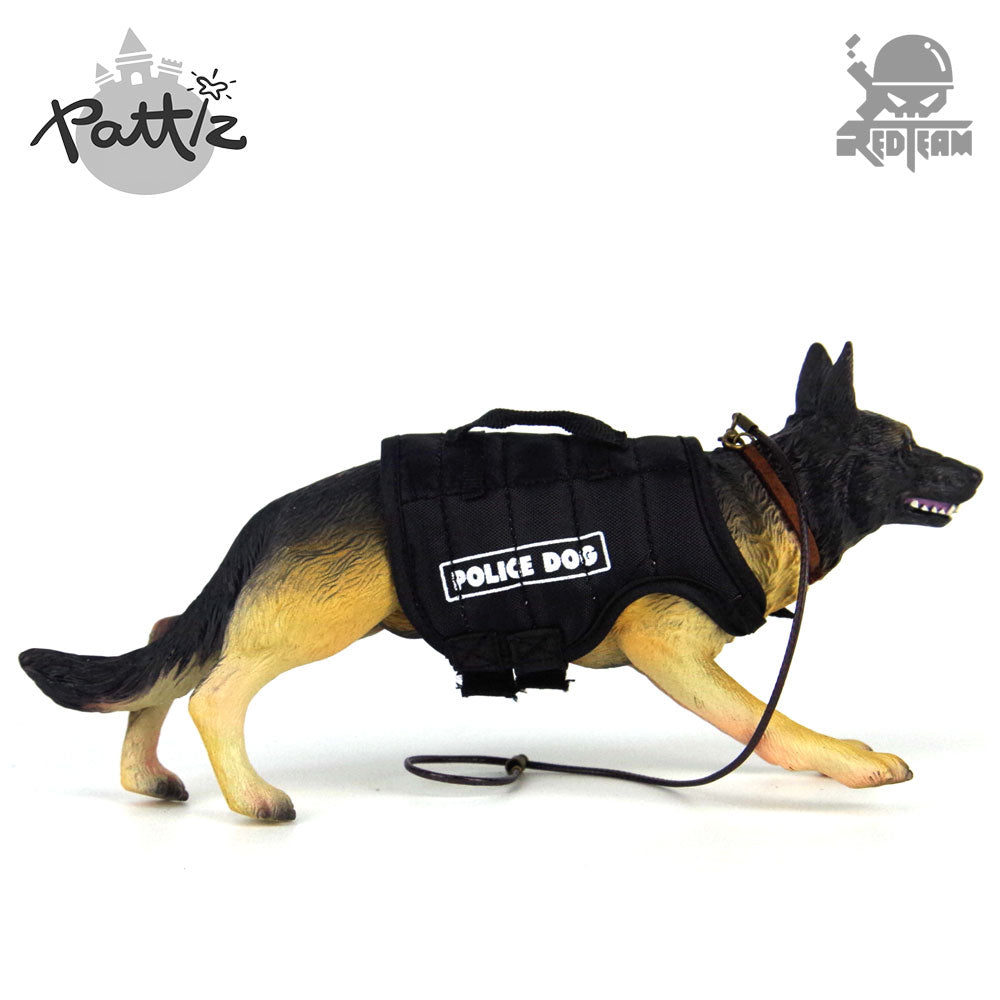 Pattiz Police Dog Toy 1/6 Scale Action Figure Accessories Military Soldiers German Shepherd Toys Mini Animal Figures Adult Gift