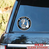 Nurse Medical Soldiers Covid19 Clear Sticker