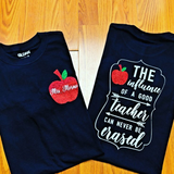 Teacher Tshirt - Personalized Teacher Shirts - Custom Teacher Shirt - Gift For Teacher