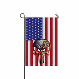 US Firefighter Flag 12  Twin-Side Printing
