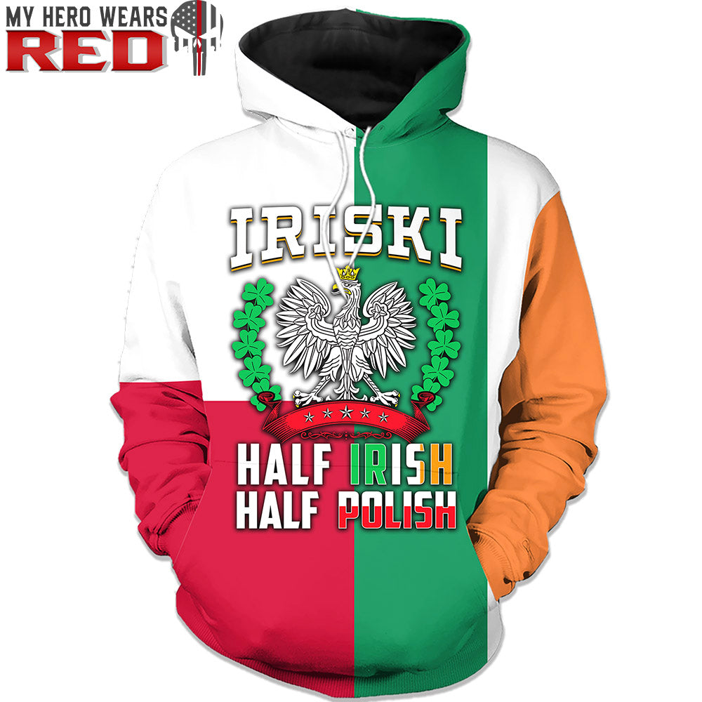 IRISKI 3D Tees Sweatshirts Hoodies