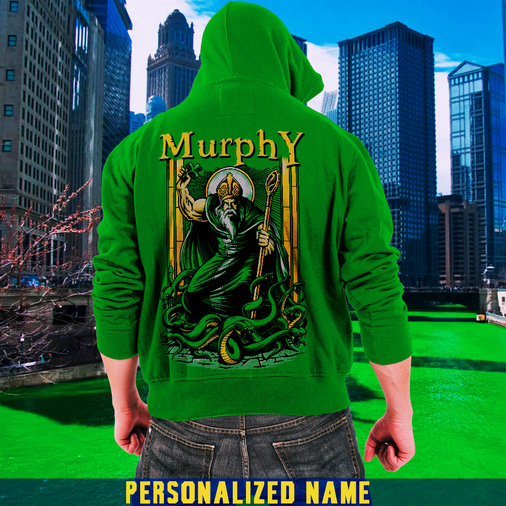 St. Patrick's Day Personalized Name Tees Hoodies