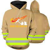 Walk Through The Fire 3D Hoodies