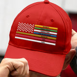 First Responder Flag Embroidery Hat