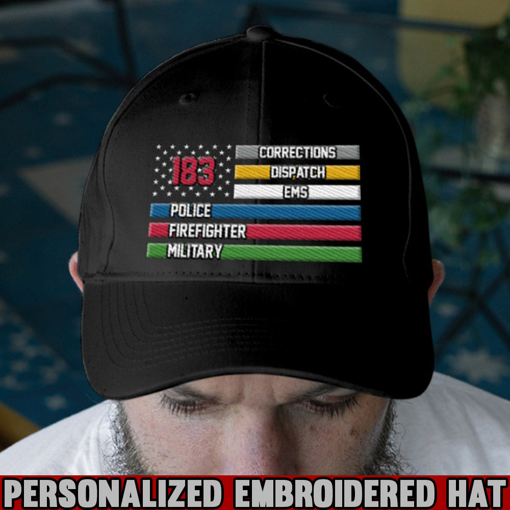We Are All Family Personalized Embroidery Hat