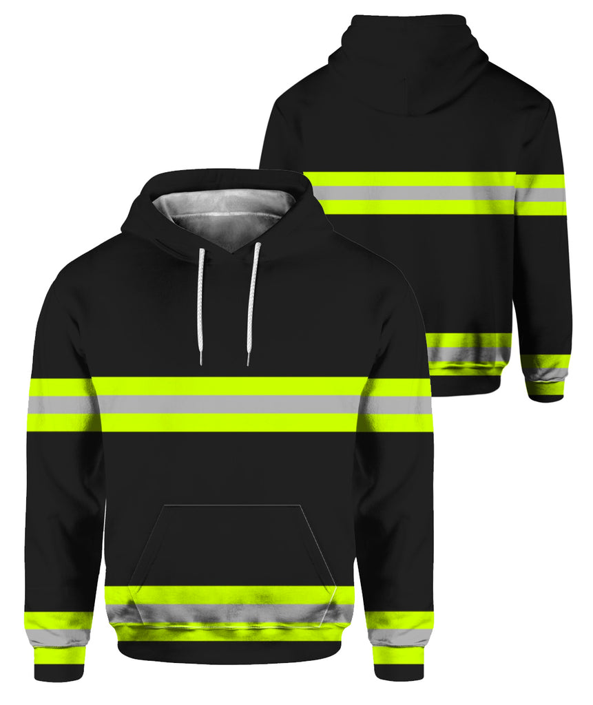 Just The Tip Firefighter 3D Hoodies