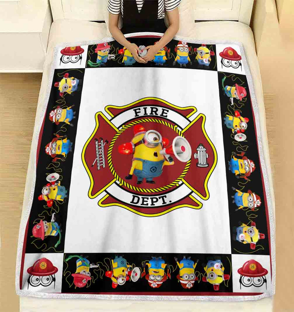 "To My Wife Firefighter Ultra-Soft Micro Fleece Blanket 60"" x 80"""