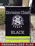 Gila River EMS Uniform Personalized Garden Flag/Yard Flag 12 inches x 18 inches Twin-Side Printing