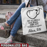 Not All Angles Have Wings Personalized Bag
