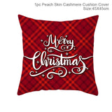 Merry Christmas Decoration For Home Santa Claus Reindeer Pillow Case Christmas 2019 Xmas Navidad Happy New Year 2020