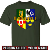 Irish Provinces Personalized Name Tees Hoodies
