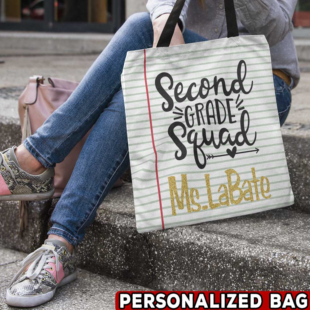 Teacher Squad Personalized Bag