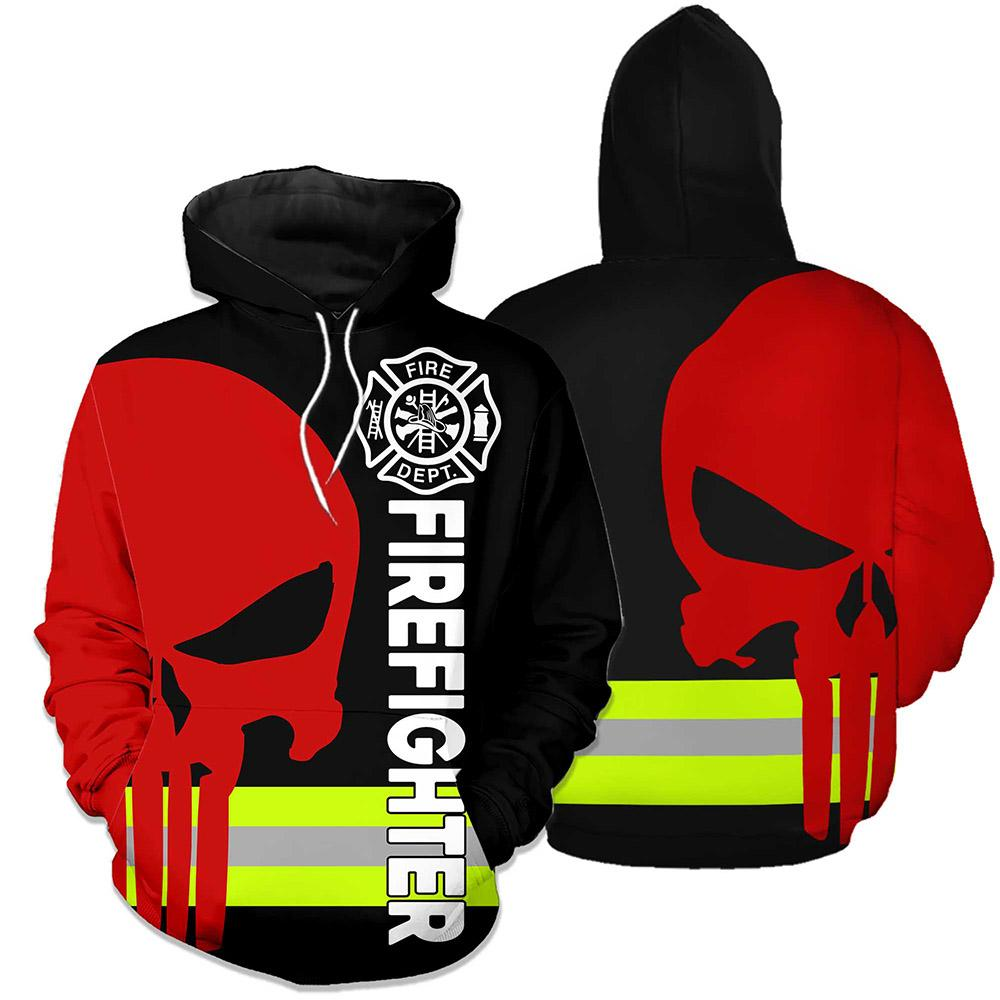 Firefighter Hero 3D Hoodies