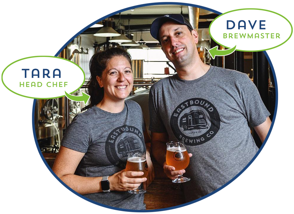 Tara and Dave Lee, Eastbound Brewing Co
