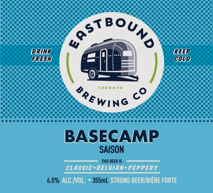 Basecamp Saison Belgion Beer - Eastbound Brewing Company - Toronto Brewery