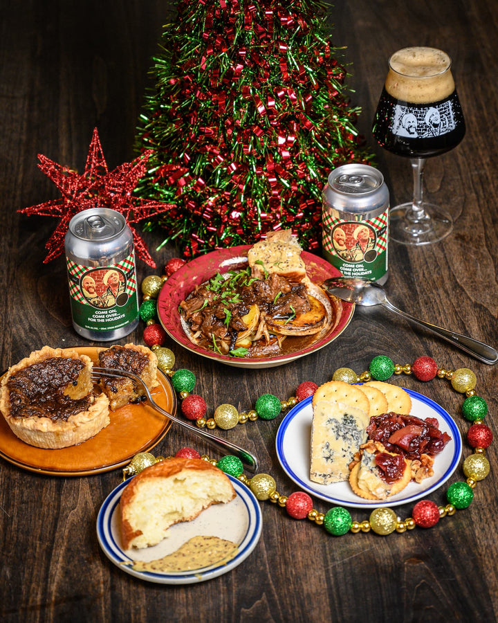 Feastbound Christmas Beer Dinner