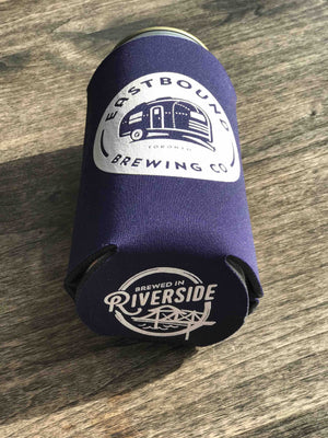 Crowler Koozie - Eastbound Brewing Company, toronto, brewpub, beer, craft beer, riverside