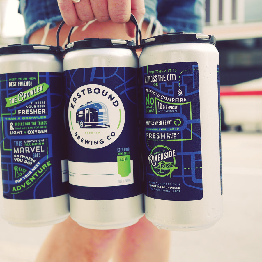Eastbound Brewing Company, Field Day, crowler, toronto, brewpub, brewery
