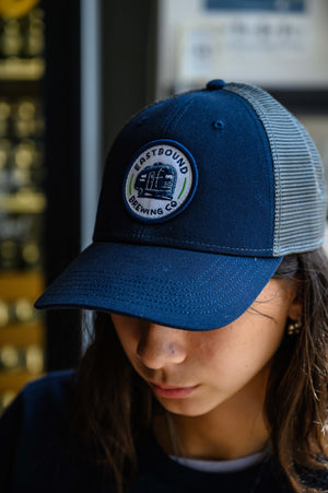 Eastbound Brewing Company classic cap with mesh backing