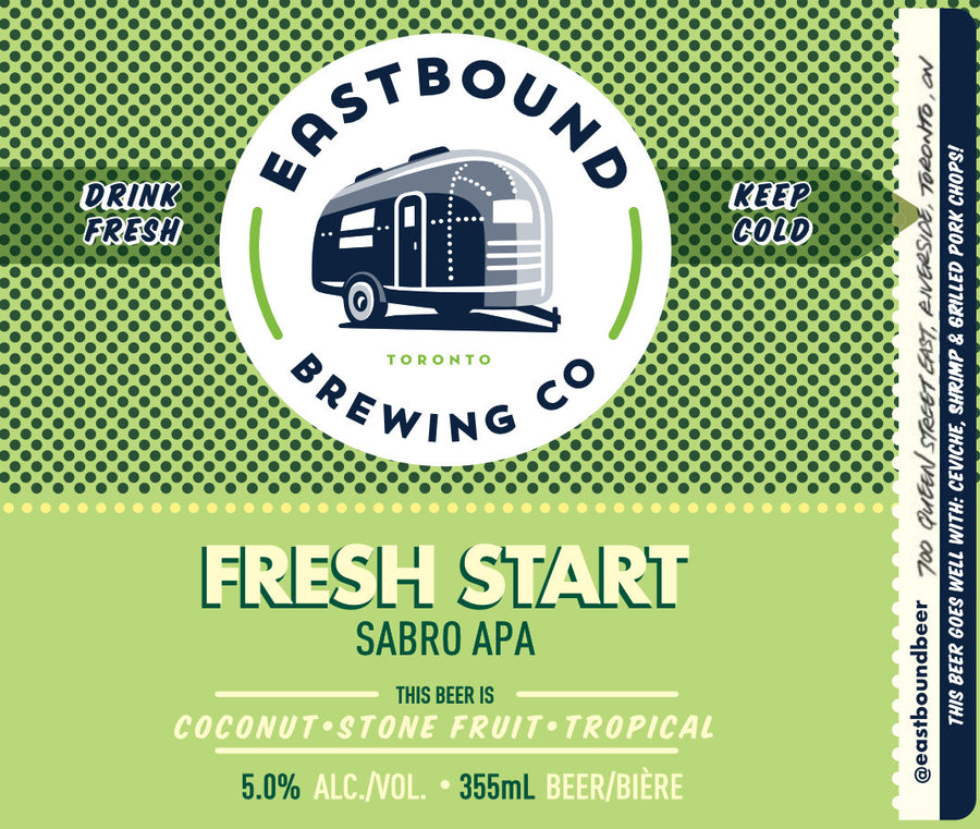 Fresh Start Sabro APA beer