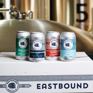 The Hop Box, Eastbound Brewing Co., Toronto brewpub, brewery, beer