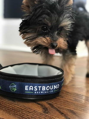 Logo Pet Travel Bowl - Eastbound Brewing Company