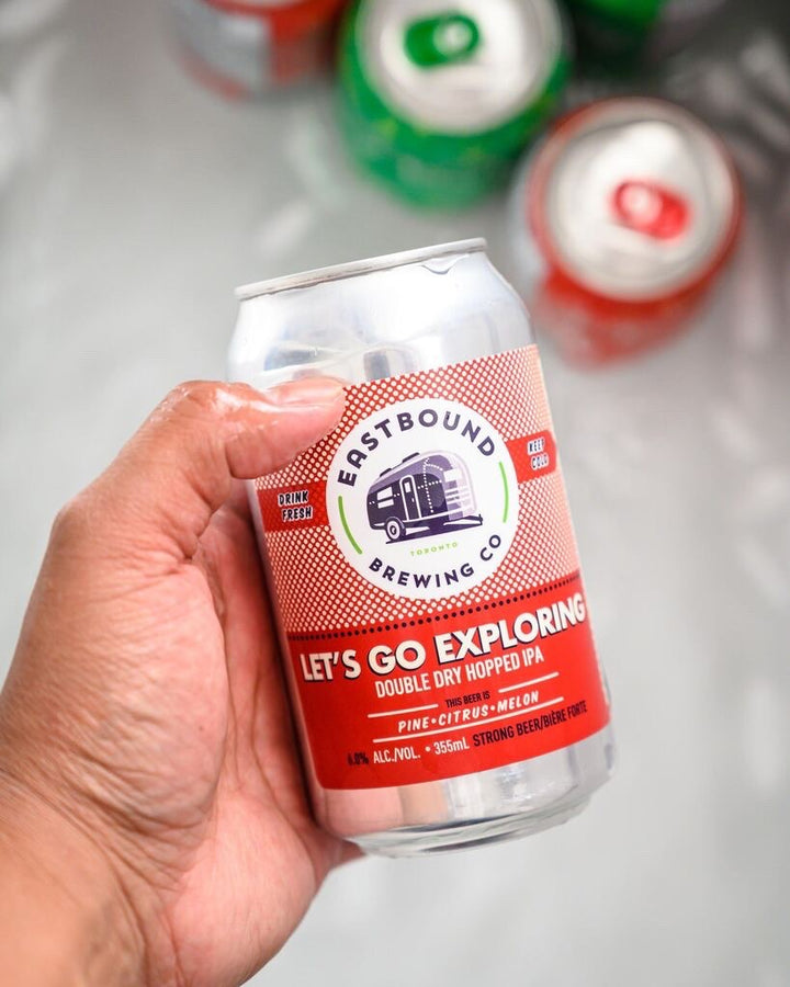 Let's Go Exploring IPA, Eastbound Brewing Co., brewpub, brewery, craft beer, hops, IPA, Toronto, Riverside