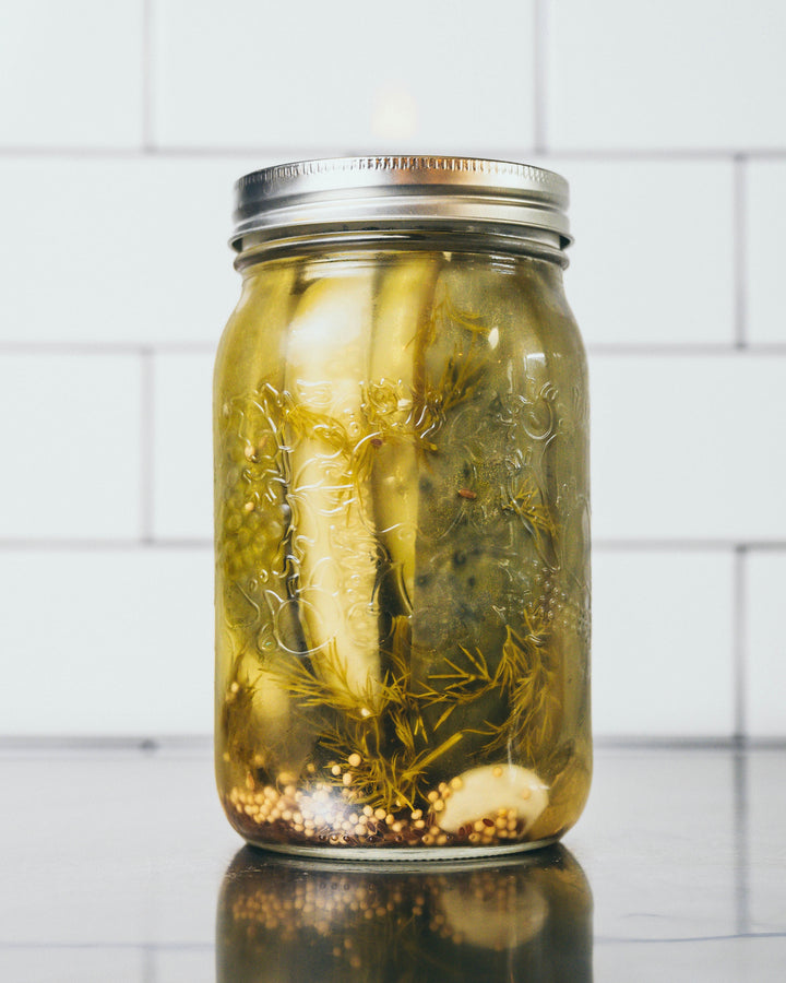Picklegirl Dill Pickled Cucumbers - 1L