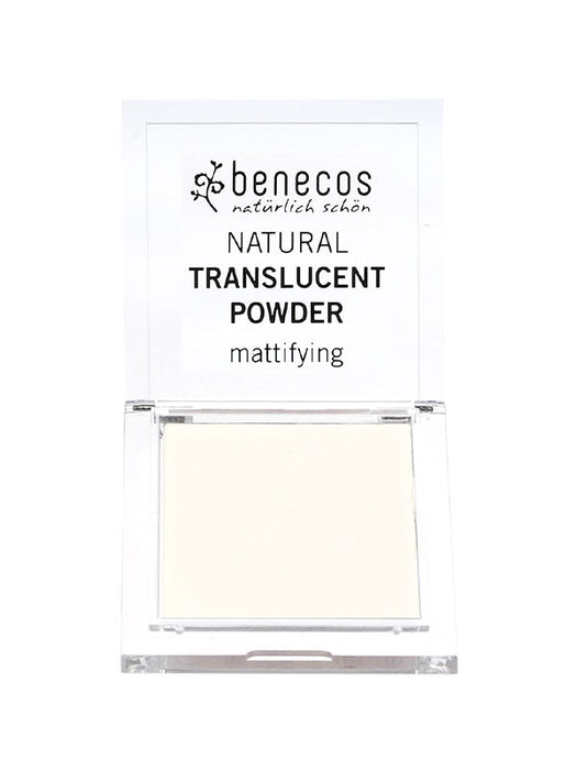 Naturkosmetik Natural Translucent Powder Mission Invisible von benecos