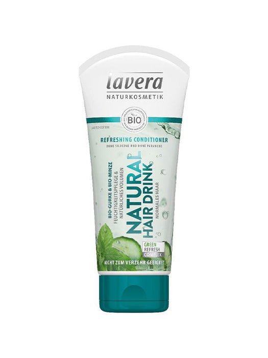 Naturkosmetik Refreshing Conditioner Gurke Minze 200 ml von Lavera