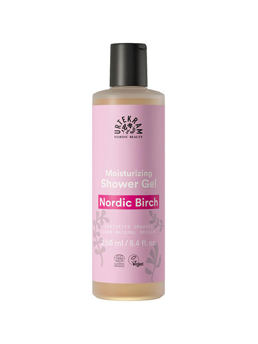 Naturkosmetik Nordic Birch Shower Gel 250 ml von Urtekram