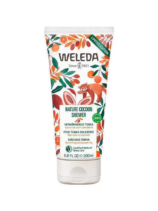 Naturkosmetik Nature Cocoon Shower von Weleda 200 ml.