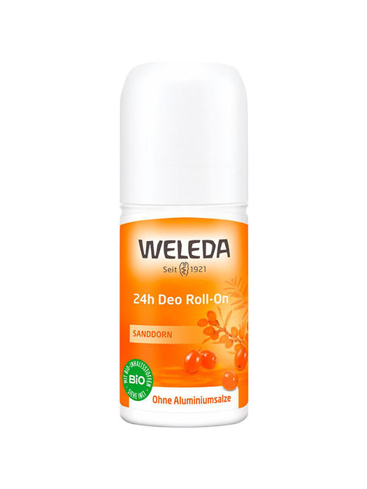 Naturkosmetik Sanddorn 24h Deo Roll-On von Weleda 50 ml.
